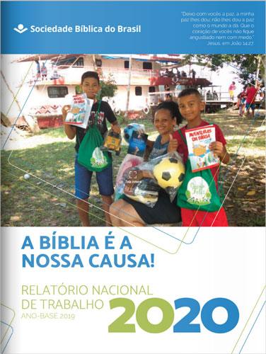 Conheça o Relatório Nacional de Trabalho da SBB. Nele, estão apresentados os resultados mais relevantes na gestão de recursos, na produção e distribuição do texto bíblico e nas ações dos programas da SBB no período.