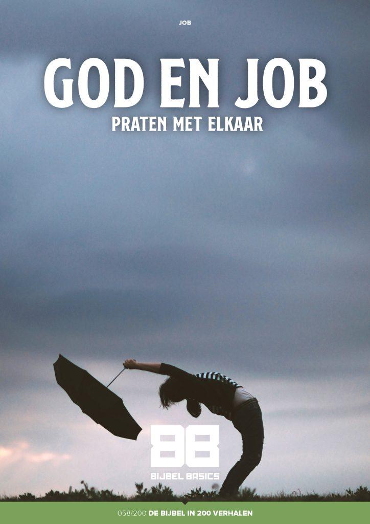 God en Job praten met elkaar