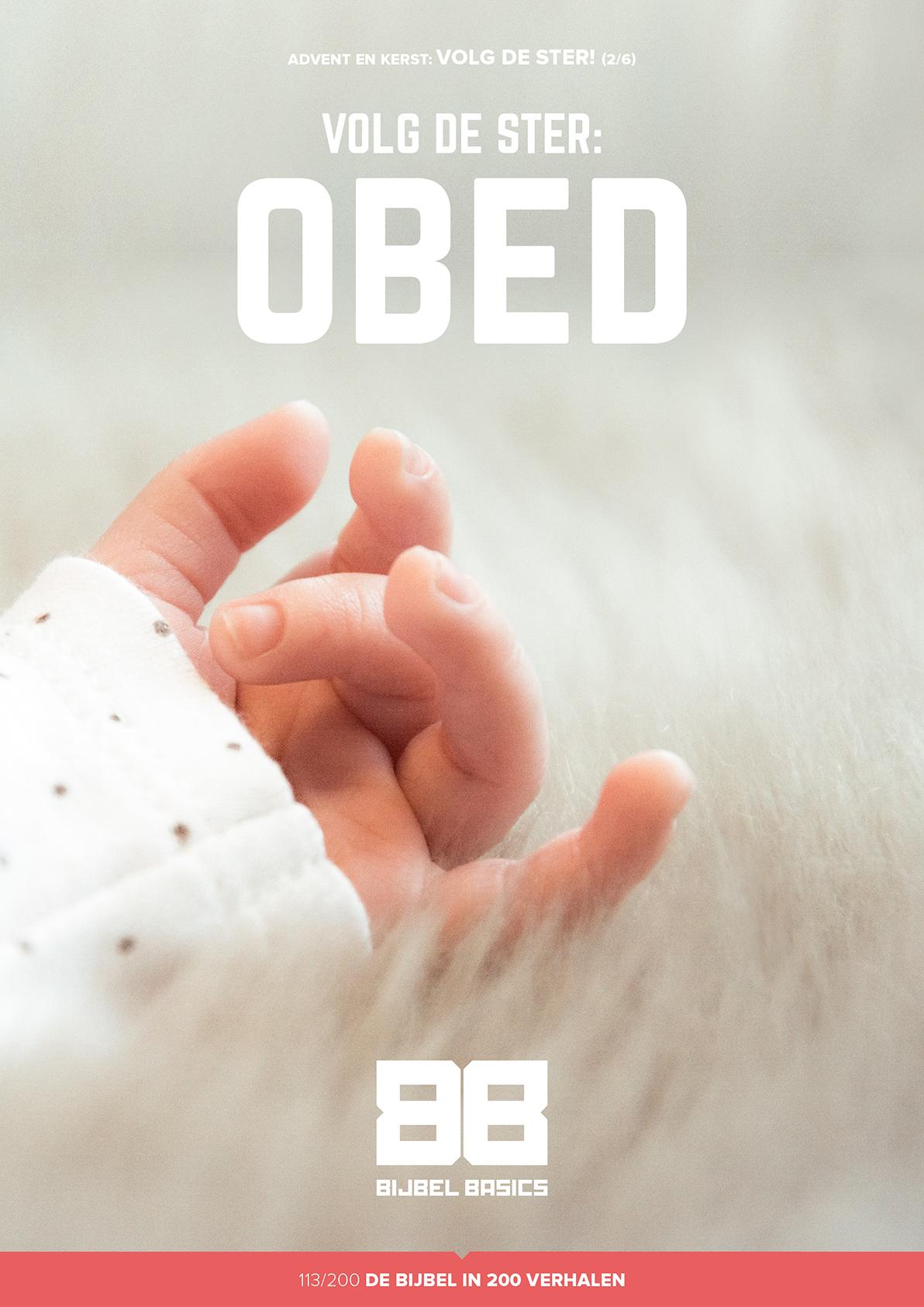 Volg de ster – Obed