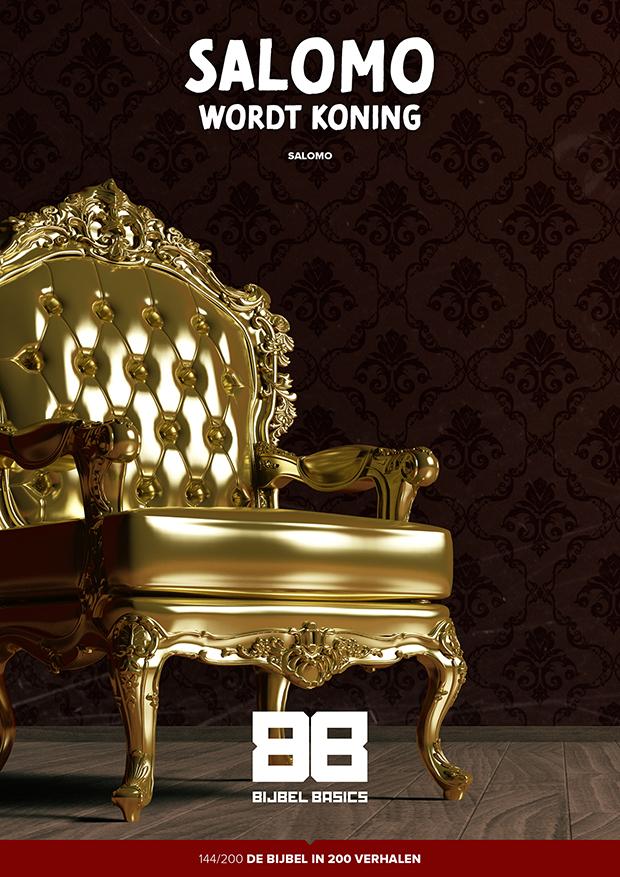 Salomo wordt koning