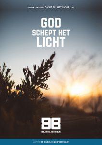 God schept het licht