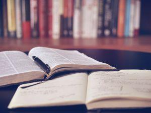 Een bijbelboek doorwerken